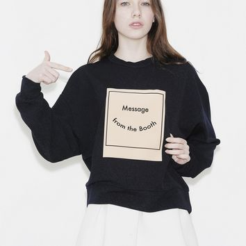 [OUTSTANDING ORDINARY] BOOTH SWEATSHIRT