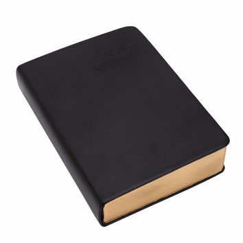 Classic Vintage Notebook Journal Diary Sketchbook Leather Cover Thick Blank Page