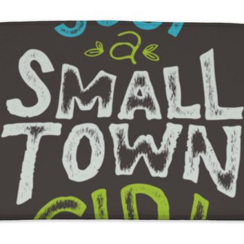 Bath Mat, Small Town Girl Tshirt