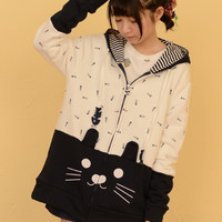 Jackets Long Sleeve Hooded Collar Small Fresh Cotton Zipper Embroidery Small Fresh All Match