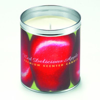 Red Deliciouis Apple Candle