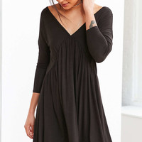 Cooperative Knit Babydoll Frock Mini Dress - Urban Outfitters