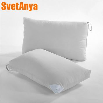 Svetanya 48x74cm standard Size Bedding Pillow Rectangle  1piece Solid Color