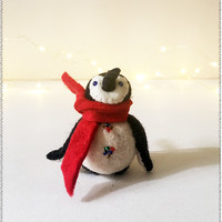 City Penguin Ornament