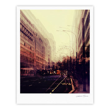 "Ingrid Beddoes ""London"" Fine Art Gallery Print"