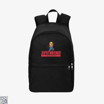 Super Nintendo Chalmers, The Simpsons Backpack