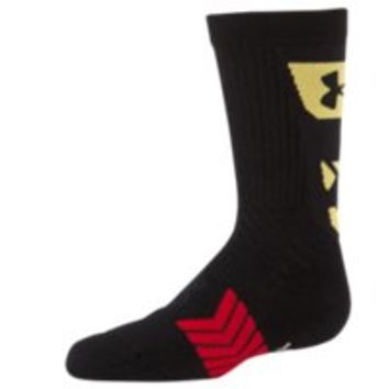 Under Armour Boys' UA Undeniable MD Flag Crew Socks