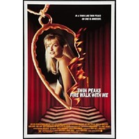 Twin Peaks Fire Walk With Me poster Metal Sign Wall Art 8in x 12in