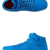 - SWICH MOVING SHADOWS HI TOPS BY BOXFRESH IN BRILLIANT BLUE