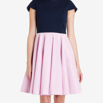 Full skirt dress - Baby Pink | Dresses | Ted Baker UK