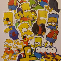 The Simpson's Stickers (10)