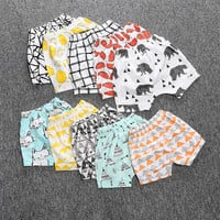 Stamps cotton kids shorts (Unisex)