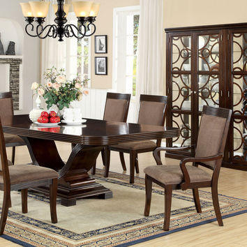 Woodmont 7 Pcs Dining Table & Chairs Set CM3663T