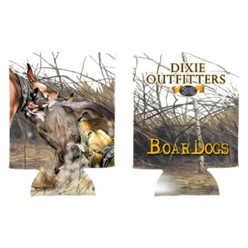 Boar Dogs Can Koozie By Dixie Outfitters®