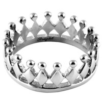 316L Stainless Steel - Casting Crown Ring