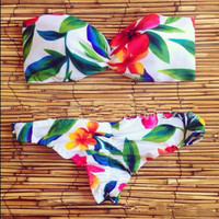 Bikini Flower Swimsuit