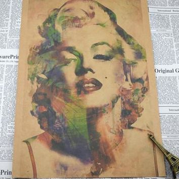 home decor Vintage Retro poster Marilyn Monroe Posters 30*21cm