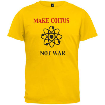 Big Bang Theory - Make Coitus Not War T-Shirt
