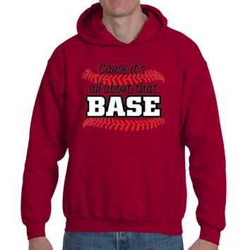 It's About that Base|Heavy Blend™ Fleece Hoodie|Underground Statements