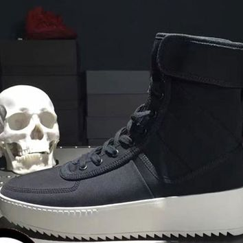 New FOG Sneaker Boots  Top Quality Genuine Leather