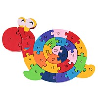 Winding Animal Wooden Puzzle
