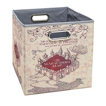 Harry Potter Marauder's Map Small Storage Bin