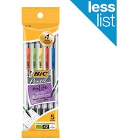 BIC® Mechanical Pencils, 0.7mm, 5/Pack | Staples