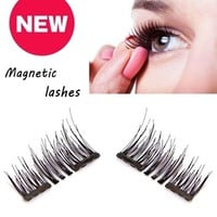 3D Long Magnetic  EyeLashes Extension Soft Sparse Eye Lash (Single Magnetic1 Pairs /Double Magnetic1 Pairs/5 Pairs /10 Pairs)