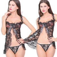 Sexy Lingerie Hot 2015 New Sexy Erotic Lingerie Sex Products Sexy Costumes Lenceria Sexy Women's Nightwear Underwear Sleepwear