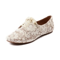 Womens Not Rated Sugar Kisses Flat, Ivory  Journeys Shoes