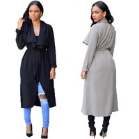Cardigan Trench Coat