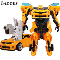 Cool Transformation 3 Toys Brinquedos Anime Robots Car Model Action Figures Juguetes Classic Kids Boy Toys Christmas Gifts