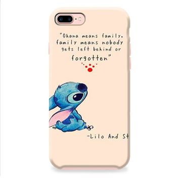 Lilo And Stitch ohana tan iPhone 8 | iPhone 8 Plus Case
