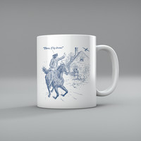 THREE IF BY DRONE PAUL REVERE'S RIDE Mugs
