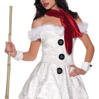 Sexy Snowed In Snow Girl Costume