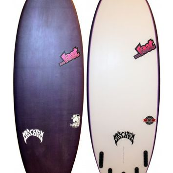 LOST SURFBOARDS/BLACK DAR COUCH POTATO BLACK DART 5'7 - Catalyst Shop