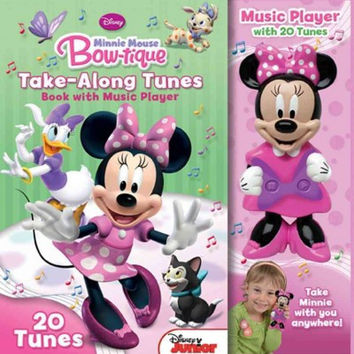 Disney Minnie Mouse Bow - Tique Take - Along Tunes