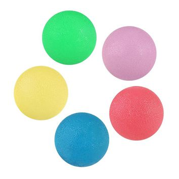 PBPBOX 5pcs Round Hand Exercise Therapy Rehabilitation Ball Set