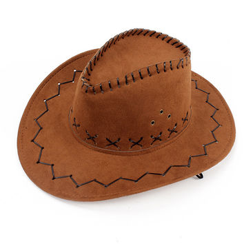 New Cowboy Cowgirl Hat Horse Outdoor Fashion 50%OFF
