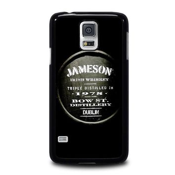jameson whiskey samsung galaxy s5 case cover  number 1