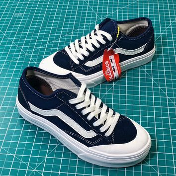 Vans Style 36 Decon Sf Old Skool Blue Sneakers Shoes - Sale e322e7a405f3