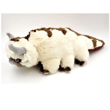 50CM Big Size Anime Kawaii Avatar Last Airbender Appa Plush Toy Soft Juguetes Stuffed Animal Brinquedos Doll Kids Toys SA442