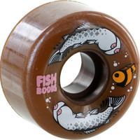 Oj III Jeremy Fish Limited Edition 56mm 87a Brown Wheels With Stressboob