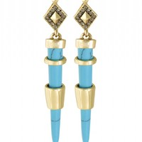 House of Harlow 1960 Jewelry Rift Valley Drop Earrings