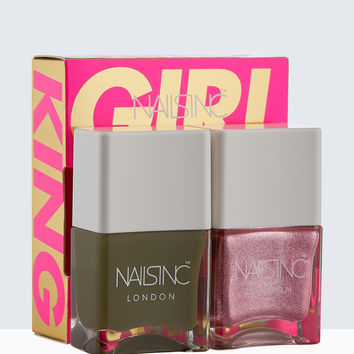 Nails Inc Girl King Nail Polish Duo | Nails inc.US