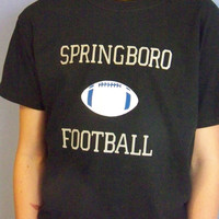 Football Shirt, School Spirit, High School Football, Personalized T-Shirt