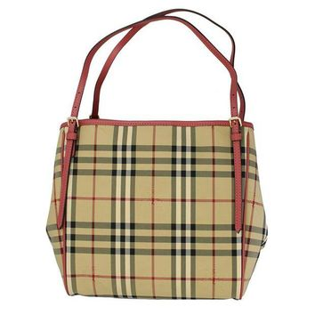 ONETOW Burberry Horseferry Check Tote Bag 4029551
