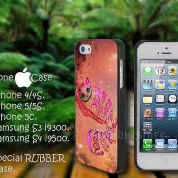 iphone 5 case,iphone 4/4s case,Alice Wonderland Quotes galaxy,accesories,samsung s3 case,samsung s4 case,cover