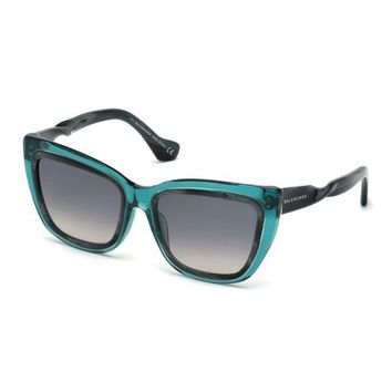 ONETOW horn effect twisted cat eye sunglasses balenciaga 2