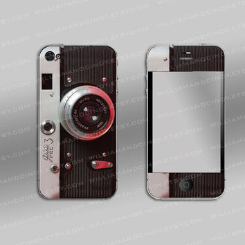 Iphone 4 cover - Vintage Camera